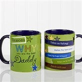 Reasons Why Personalized Coffee Mug 11 oz.- Blue - 13061-BL