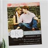 Wedding Monogram Save The Date Custom Photo Magnets - 13066-M