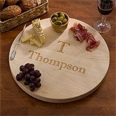 Maple Leaf Personalized Lazy Susan - 13073D