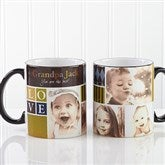 Photo Fun For Him Personalized Black Handle Mug- 11oz. - 13075-B