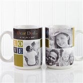 Photo Fun For Him Personalized Coffee Mug- 15 oz. - 13075-L