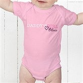 Daddy's Girl Personalized Baby Bodysuit - 13080-CBB
