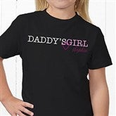 Daddy's Girl Personalized Hanes® Youth T-Shirt - 13080-YT