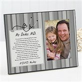 My Daddy, M.D. Personalized Photo Frame - 13102