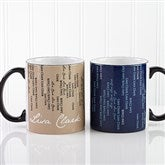 11 oz. Black Handle Mug - 13138-B