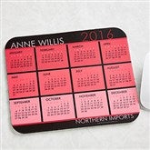 It's a Date! Personalized Calendar Mouse Pad - 13149