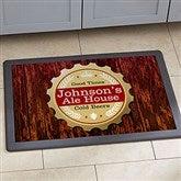 Premium Brew Personalized Doormat- 18x27 - 13151