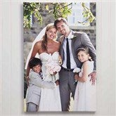 Wedding Memories Photo Canvas Print - 24