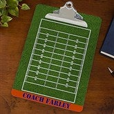 Field and Court Plays Personalized Dry Erase Clipboards