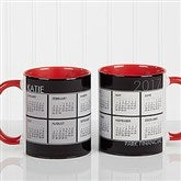 It's a Date! Personalized Calendar Coffee Mug 11oz.- Red - 13164-R
