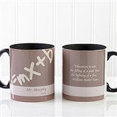 Teaching Professions Personalized Coffee Mug 11oz.- Black - 13172-B