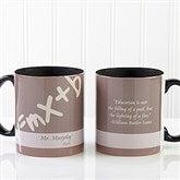 Teaching Professions Personalized Coffee Mug 11oz.- Black - 13172-B
