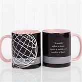 Teaching Professions Personalized Coffee Mug 11oz.- Pink - 13172-P