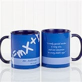 Teaching Professions Personalized Coffee Mug 11oz.- Blue - 13172-BL