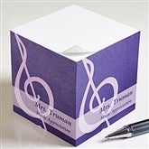 Teaching Professions Personalized Note Cube - 13173