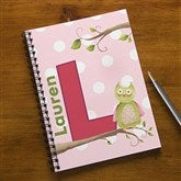 Owl About You Personalized Large Notebooks-Set of 2 - 13175