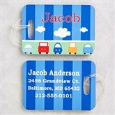 Transportation Personalized Luggage Tag 2 Pc Set - 13180