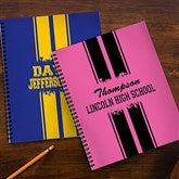 School Spirit Personalized Large Notebooks-Set of 2 - 13182