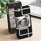 Modern Photo Collage iPhone 4/4s Cell Phone Hardcase- 1 Photo - 13216-1