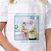 Picture Perfect Kid's Personalized Apron - One Photo - 13220-1