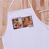 Picture Perfect Kid's Personalized Apron - Two Photo - 13220-2