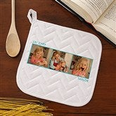 Picture Perfect Personalized Potholder - Three Photo - 13220-P3
