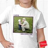 Picture Perfect Personalized Hanes® Youth T-Shirt - 13221-YCT