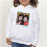 Picture Perfect Personalized Toddler Hooded Sweatshirt - 13221-CTHS