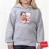 Picture Perfect Personalized Youth Hooded Sweatshirt - 13221-BHS