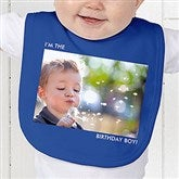 Picture Perfect Personalized Baby Bib - 13221-B