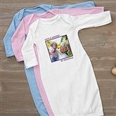 Picture Perfect Personalized Baby Gown - 13221-G