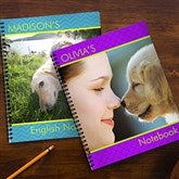 Photo Excitement Personalized Large Notebooks-Set of 2 - 13229