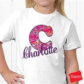 Her Name Personalized Hanes® Youth T-Shirt - 13241-YCT