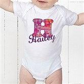 Her Name Personalized Baby Bodysuit - 13241-CBB