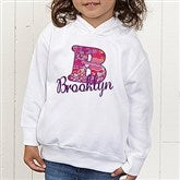 Her Name Personalized Toddler Hooded Sweatshirt - 13241-CTHS