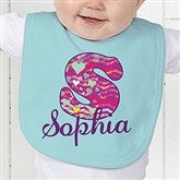 Her Name Personalized Baby Bib - 13241-B