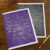Hidden Name Personalized Folders - Set of 2 - 13246