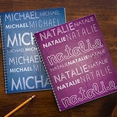 My Name Personalized Large Notebooks-Set of 2 - 13286