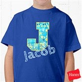 His Name Personalized Hanes® Youth T-Shirt - 13297T