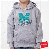 His Name Personalized Youth Hooded Sweatshirt - 13297-BHS