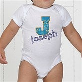 His Name Personalized Baby Bodysuit - 13297-CBB