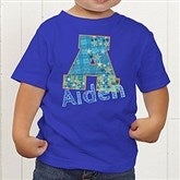 His Name Personalized Toddler T-Shirt - 13297-TT