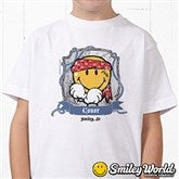 Smiley Jr.® Pirate Personalized Hanes® Youth T-Shirt - 13298T