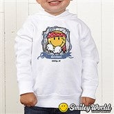 Smiley Jr.® Pirate Personalized Toddler Hooded Sweatshirt - 13298-THS