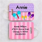 Just For Her Personalized Luggage Tag 2 Pc Set - 13306