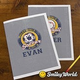 Smiley Sport® Personalized Folders - Set of 2 - 13316