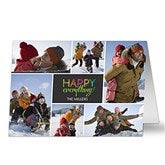 Happy Everything Photo Christmas Cards- 7 Photo - 13329-7