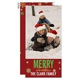 Season's Greetings Holiday Postcard - 1 Photo - 13333-1