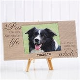 My Pets Personalized Canvas Print-1 Photo- 5½ x 11