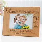 Special Aunt Personalized Photo Frame - 4x6 - 13353